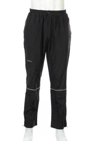 Мъжко спортно долнище Craft, Размер L, Цвят Черен, Полиестер, Цена 18,38лв.
