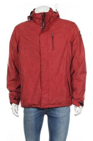 Мъжко яке Killtec, Размер M, Цвят Червен, Полиестер, Цена 52,92лв.