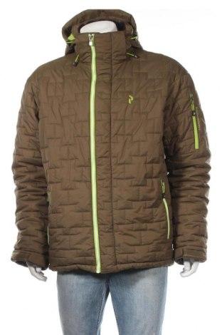 Мъжко яке за зимни спортове Peak Performance, Размер XL, Цвят Зелен, Полиестер, Цена 134,90лв.