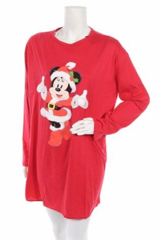 Пижама Disney, Размер M, Цвят Червен, Памук, Цена 34,50лв.
