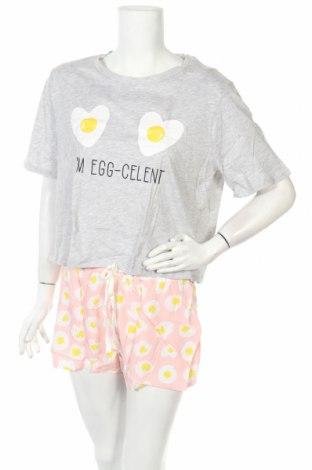 Пижама Undiz, Размер XL, Цвят Многоцветен, Памук, вискоза, Цена 36,00лв.