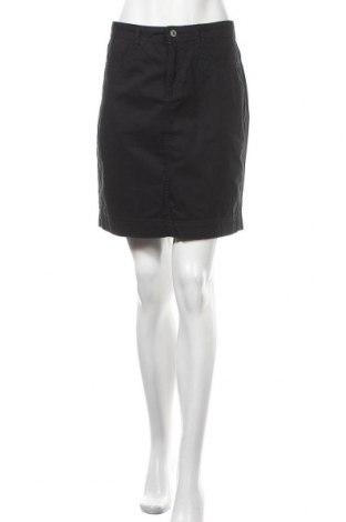 Φούστα Montego, Μέγεθος L, Χρώμα Μαύρο, Βαμβάκι, Τιμή 6,46€
