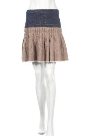 Φούστα Twist, Μέγεθος S, Χρώμα  Μπέζ, Βαμβάκι, ελαστάνη, μαλλί, πολυεστέρας, Τιμή 3,64€