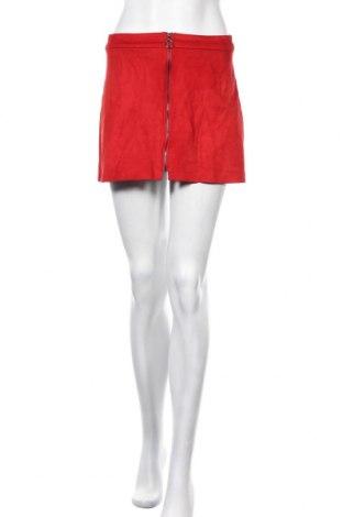 Пола Zara Trafaluc, Размер S, Цвят Червен, 90% полиестер, 10% еластан, Цена 4,83лв.