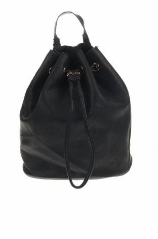 Раница H&M, Цвят Черен, Еко кожа, Цена 23,94лв.