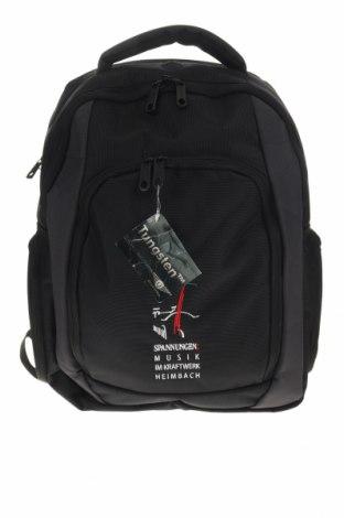 Раница за лаптоп Quadra, Цвят Черен, Текстил, Цена 51,87лв.