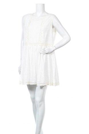 Рокля La Morena, Размер XL, Цвят Бял, Памук, Цена 31,27лв.
