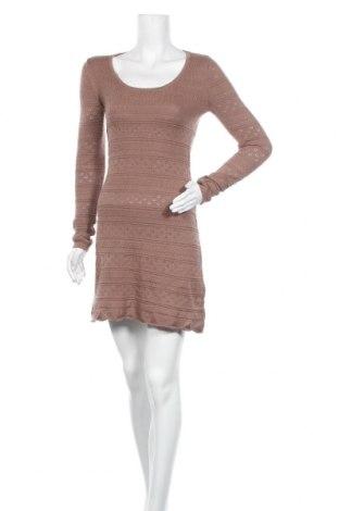 Φόρεμα Aniston, Μέγεθος XS, Χρώμα Καφέ, 50% βαμβάκι, 50% πολυακρυλικό, Τιμή 8,64€