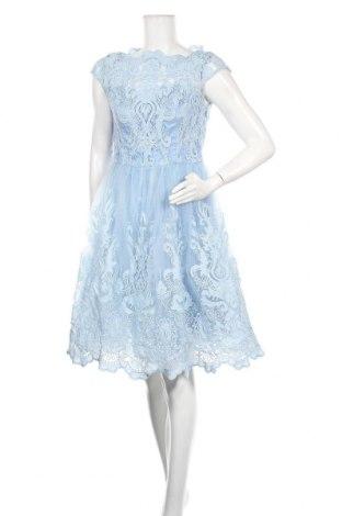 Φόρεμα Chi Chi, Μέγεθος L, Χρώμα Μπλέ, Πολυαμίδη, Τιμή 36,60€