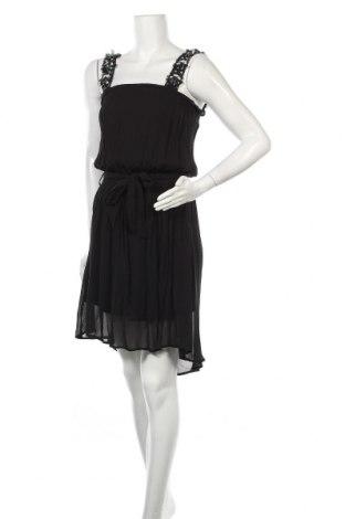 Рокля Gaudi, Размер M, Цвят Черен, Вискоза, Цена 71,20лв.
