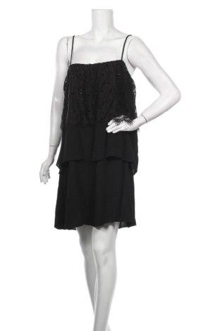 Рокля Gaudi, Размер XL, Цвят Черен, Вискоза, Цена 71,60лв.
