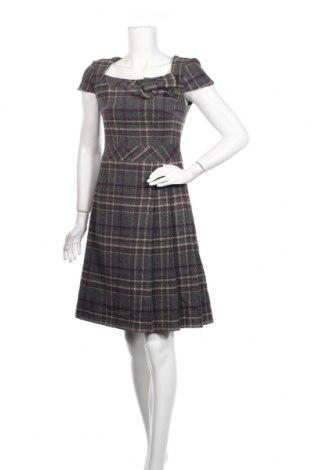 Φόρεμα Hallhuber, Μέγεθος S, Χρώμα Γκρί, 65% μαλλί, 30% πολυαμίδη, 5% βαμβάκι, Τιμή 16,95€