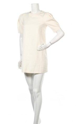 Φόρεμα Mohito, Μέγεθος XS, Χρώμα Εκρού, 53% βαμβάκι, 44% πολυεστέρας, 3% ελαστάνη, Τιμή 17,32€