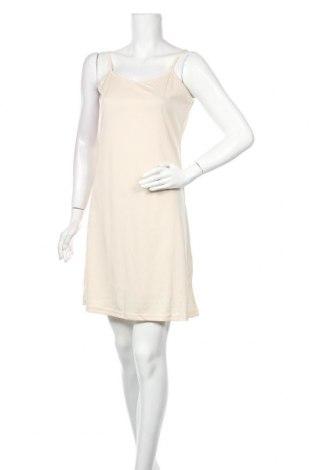 Φόρεμα Molly Bracken, Μέγεθος M, Χρώμα  Μπέζ, Βαμβάκι, Τιμή 17,42€