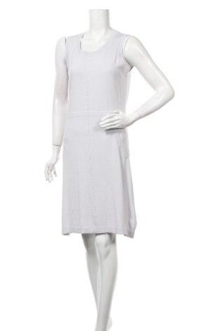 Φόρεμα Pascal Morabito, Μέγεθος L, Χρώμα Γκρί, 65% βισκόζη, 25% λινό, 10% ελαστάνη, Τιμή 46,08€