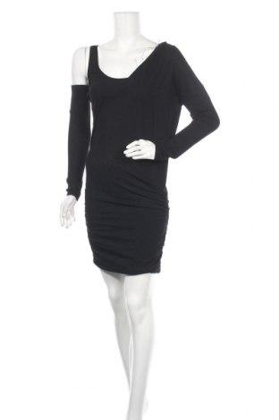 Φόρεμα Patrizia Pepe, Μέγεθος M, Χρώμα Μαύρο, 42% βισκόζη, 32% πολυαμίδη, 22% πολυεστέρας, 4% κασμίρι, Τιμή 48,25€