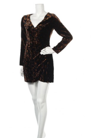 Рокля Zara Trafaluc, Размер M, Цвят Многоцветен, 75% вискоза, 25% полиамид, Цена 12,48лв.