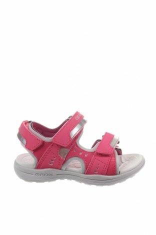 Παιδικά σανδάλια Geox, Μέγεθος 26, Χρώμα Ρόζ , Δερματίνη, κλωστοϋφαντουργικά προϊόντα, Τιμή 37,89€
