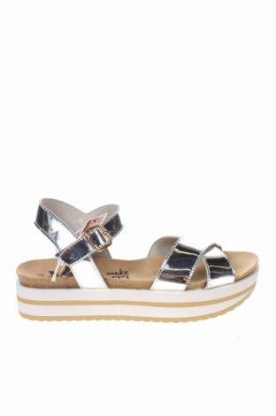 Sandale Xti, Mărime 39, Culoare Argintiu, Piele ecologică, Preț 161,09 Lei