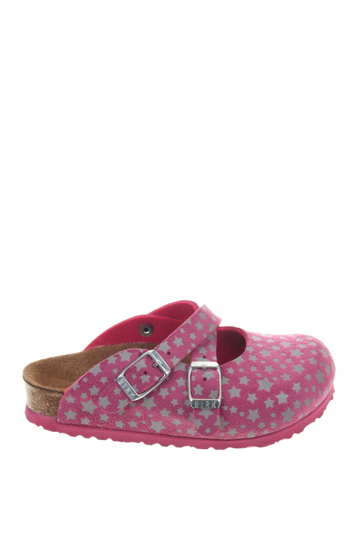Γυναικείες παντόφλες Birkenstock, Μέγεθος 26, Χρώμα Ρόζ , Δερματίνη, Τιμή 33,49€