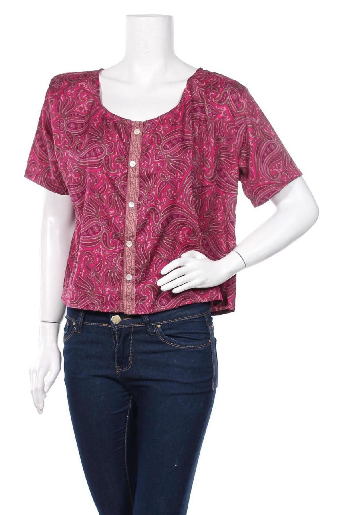 Дамска риза Ipanima, Размер L, Цвят Розов, 100% полиестер, Цена 26,46лв.