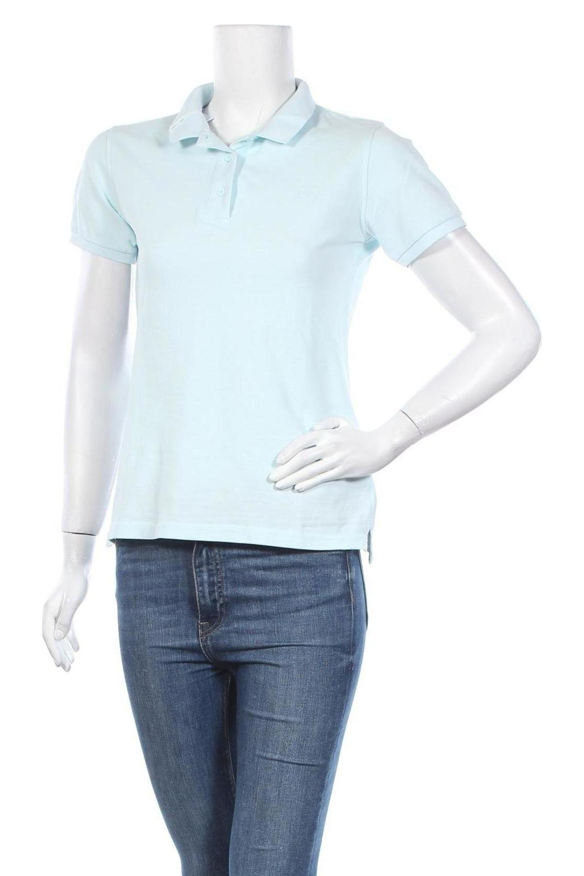 Дамска тениска SUN68, Размер L, Цвят Син, Памук, Цена 66,75лв.