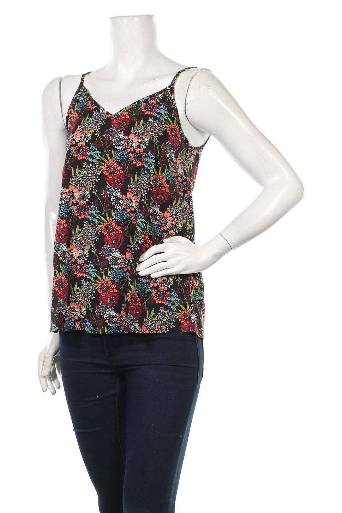 Γυναικείο αμάνικο μπλουζάκι Be You, Μέγεθος M, Χρώμα Πολύχρωμο, Πολυεστέρας, Τιμή 12,37€