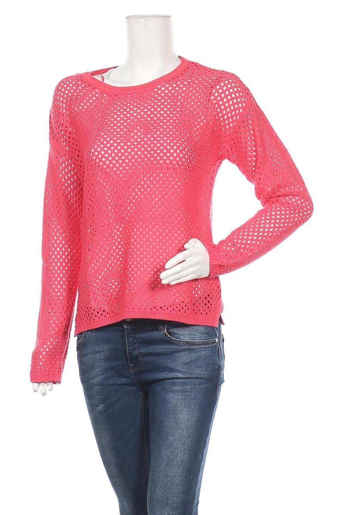 Дамски пуловер Montego, Размер M, Цвят Розов, 55% полиакрил, 45% памук, Цена 16,10лв.