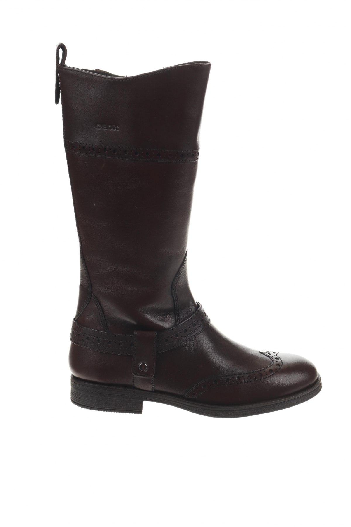 Παιδικά παπούτσια Geox, Μέγεθος 33, Χρώμα Καφέ, Γνήσιο δέρμα, Τιμή 84,67€