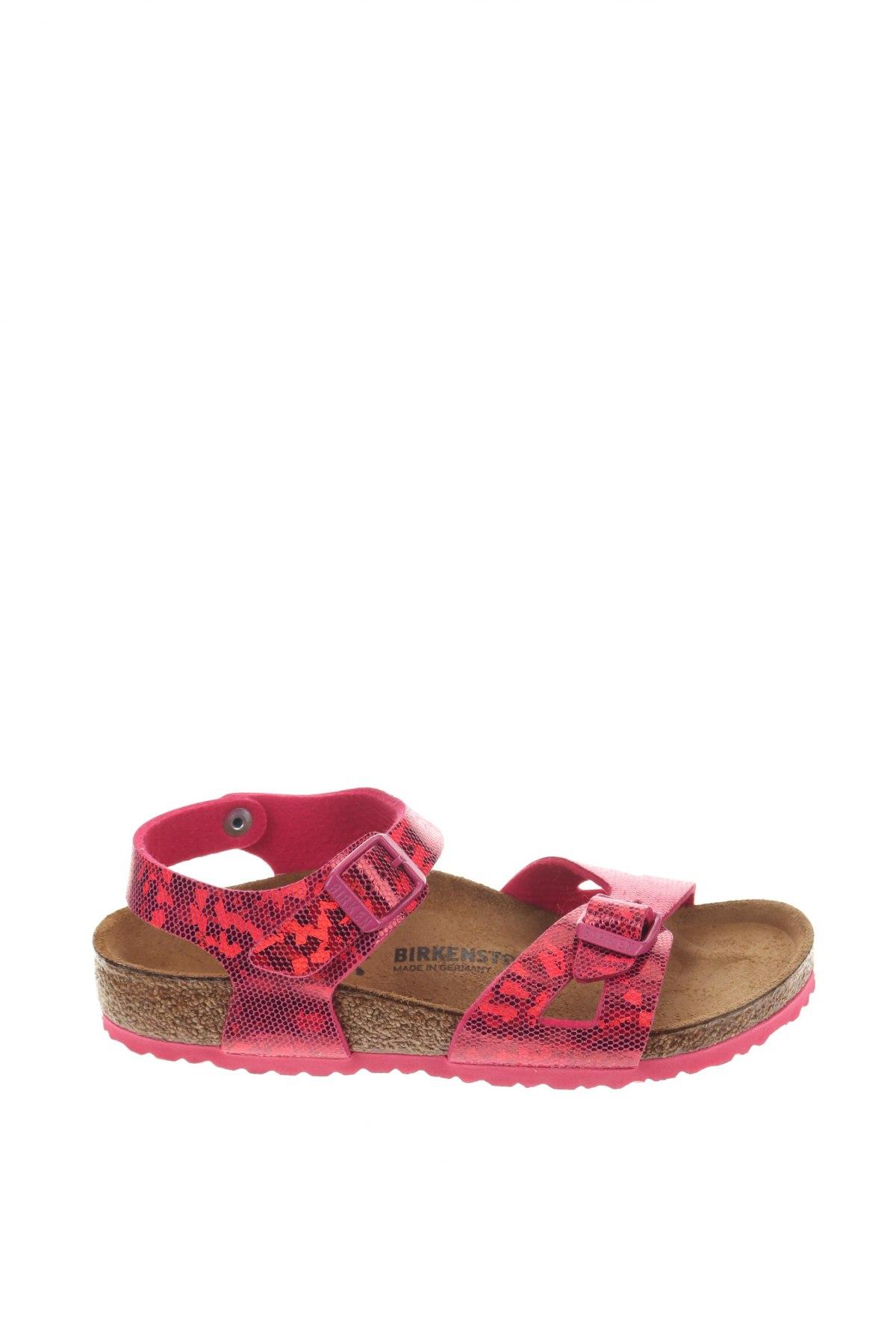 Παιδικά σανδάλια Birkenstock, Μέγεθος 31, Χρώμα Ρόζ , Δερματίνη, Τιμή 38,64€