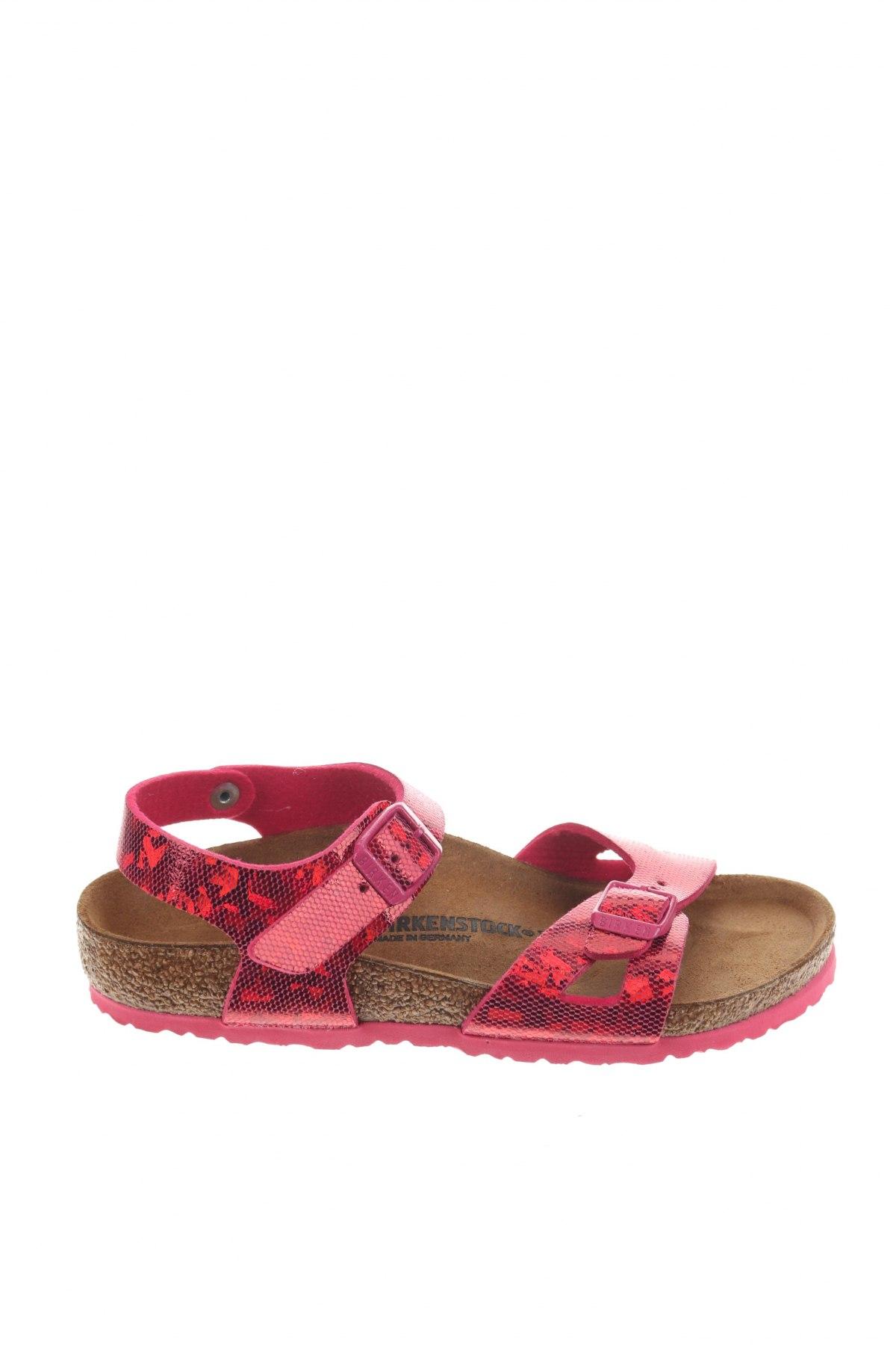 Παιδικά σανδάλια Birkenstock, Μέγεθος 33, Χρώμα Ρόζ , Δερματίνη, Τιμή 38,64€