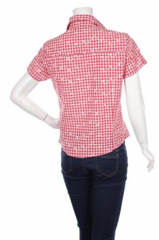 Γυναικείο πουκάμισο Elvira, Μέγεθος S, Χρώμα Κόκκινο, 60% βαμβάκι, 40% πολυεστέρας, Τιμή 10,52€