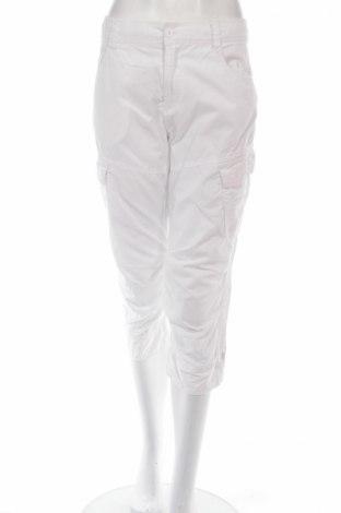 Дамски панталон Carla F., Размер M, Цвят Бял, 100% памук, Цена 5,06лв.
