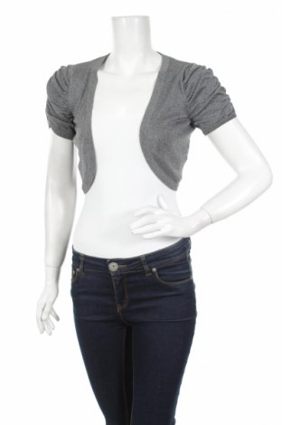 Дамска жилетка H&M Divided, Размер M, Цвят Сребрист, 83% вискоза, 11% полиестер, 6% метални нишки, Цена 6,58лв.
