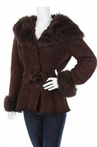 Дамско кожено палто A&a