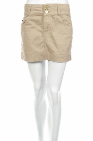 Φούστα Gina Jeans, Μέγεθος L, Χρώμα  Μπέζ, 95% βαμβάκι, 5% ελαστάνη, Τιμή 3,69€
