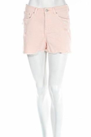 Дамски къс панталон Ltb, Размер S, Цвят Розов, 98% памук, 2% еластан, Цена 27,56лв.