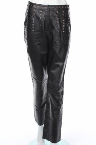 Дамски кожен панталон Alba Moda