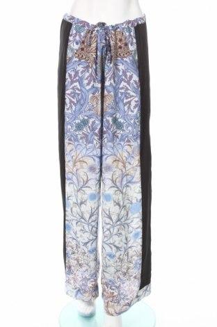 Pantaloni de femei Silvian Heach, Mărime M, Culoare Multicolor, Poliester, Preț 92,67 Lei