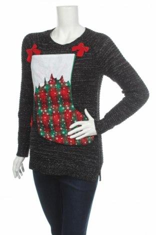 Дамски пуловер Faded Glory, Размер S, Цвят Черен, Цена 22,00лв.