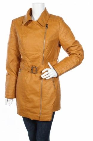 Дамско кожено яке D.D. Style