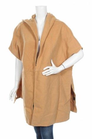 Γυναικείο παλτό Doca, Μέγεθος M, Χρώμα  Μπέζ, 65%ακρυλικό, 35% πολυεστέρας, Τιμή 45,88€