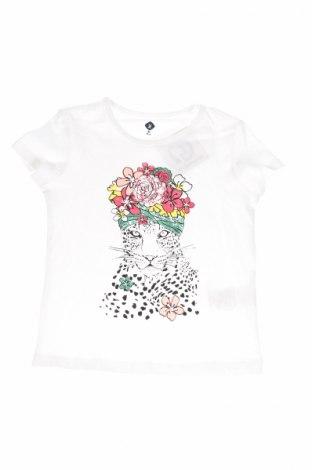 Детска блуза Grain De Ble, Размер 4-5y/ 110-116 см, Цвят Бял, Памук, Цена 11,18лв.
