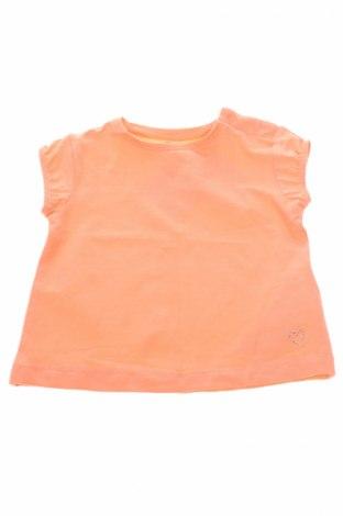 Детска блуза ZY kids, Размер 6-9m/ 68-74 см, Цвят Оранжев, 96% памук, 4% еластан, Цена 24,00лв.
