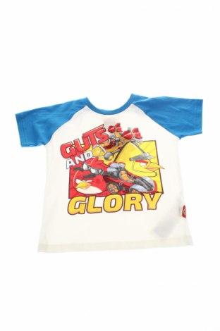 Детска тениска Angry Birds, Размер 2-3y/ 98-104 см, Цвят Бял, Памук, Цена 10,64лв.