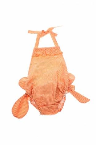 Strój kąpielowy dziecięcy Casilda y Jimena, Rozmiar 2-3y/ 98-104 cm, Kolor Pomarańczowy, 100% bawełna, Cena 67,43zł