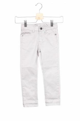 Детски дънки Zadig & Voltaire, Размер 3-4y/ 104-110 см, Цвят Сив, 97% памук, 3% еластан, Цена 28,35лв.