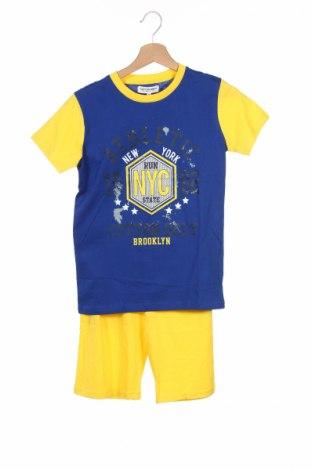 Dziecięcy zestaw Cotton Belt, Rozmiar 11-12y/ 152-158 cm, Kolor Niebieski, 85% bawełna, 15% poliester, Cena 43,00zł