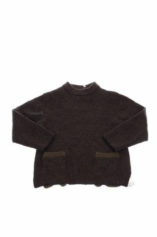 Dziecięcy sweter Zara Kids, Rozmiar 3-4y/ 104-110 cm, Kolor Zielony, 70%akryl, 26% poliamid, 4% elastyna, Cena 102,27zł
