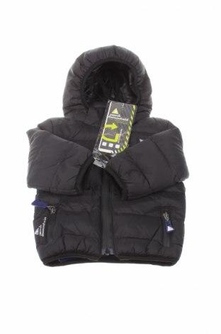 Детско спортно яке Peak Mountain, Размер 9-12m/ 74-80 см, Цвят Черен, Полиестер, Цена 57,96лв.